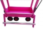 Mobile Preview: Bollerwagen Deluxe - Mieten - Farbe pink